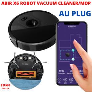 ABIR X6 Visual Navigation App Virtual Barrier Vacuum Cleaner Mop Powerful Robot