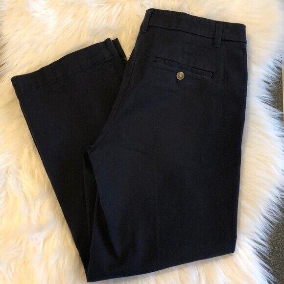 Ann Taylor NWT Navy Devin Fit Khaki Pants, Size 4. Retail  89