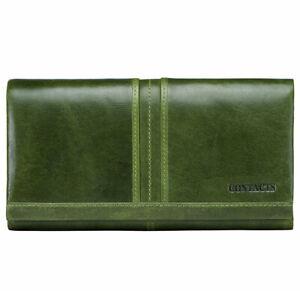 Women-039-s-Genuine-Leather-Long-Wallet-RFID-Cowhide-Money-Card-Holder-Clutch-Purse