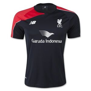 Balance Liverpool Fc Official   Soccer Training Jersey Black