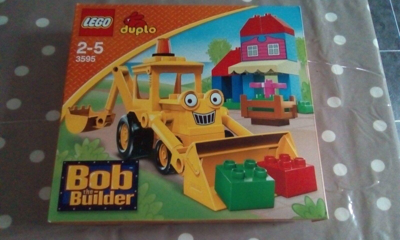 Lego 3595 Bob the Builder duplo Scoop very rare item