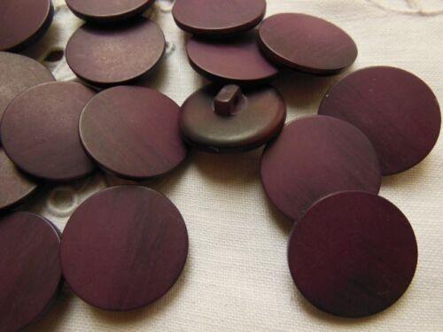 lot 8 boutons violet camaieu à pied couture mercerie diamètre 2 cm TC