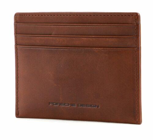 PORSCHE DESIGN cas de carte de crédit Cognac