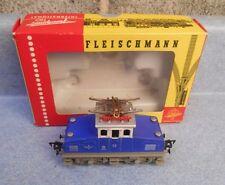 Vintage Fleischmann HO 1302A Electric Loco In Original Box Analog 1967-70