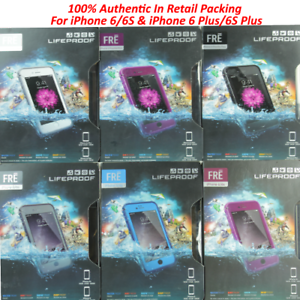 Authentic-LifeProof-Fre-WaterProof-Case-For-Apple-iPhone-6-6s-amp-6S-Plus-6-Plus