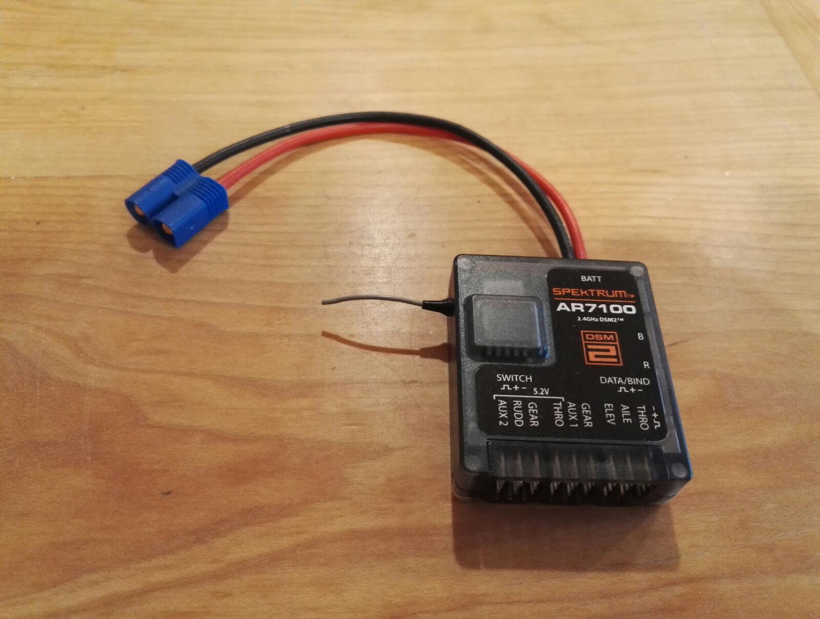 SPEKTRUM AR7100 DSM2 7 CHANNEL POWERSAFE DSM2 RECEIVER
