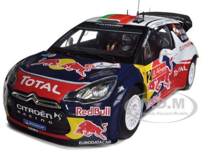 Citroen DS3  2 WRC Winner Rally Portugal 2011 rouge BULL 1 18 voiture NOREV 181556