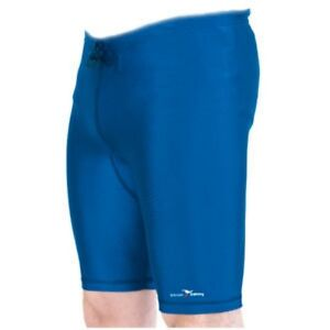 Royal-Blue-Lycra-Shorts-Cycling-Running-Football-Rugby-Gym-Small-Med-Lge-X-Lge