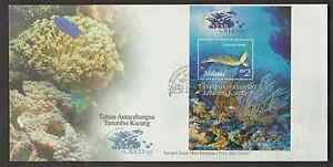 F214M-MALAYSIA-1997-INTERNATIONAL-YEAR-OF-THE-REEF-MARINE-LIFE-MS-FDC-CAT-RM-10