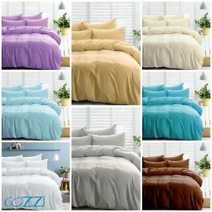 Hotel Collection Duvet Set 3pc 1000tc 100 Egyptian Cotton All Size