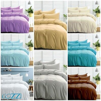 1000TC 100/%Egyptian Cotton 4Pc Sheet Set Black Solid Color With All Sizes