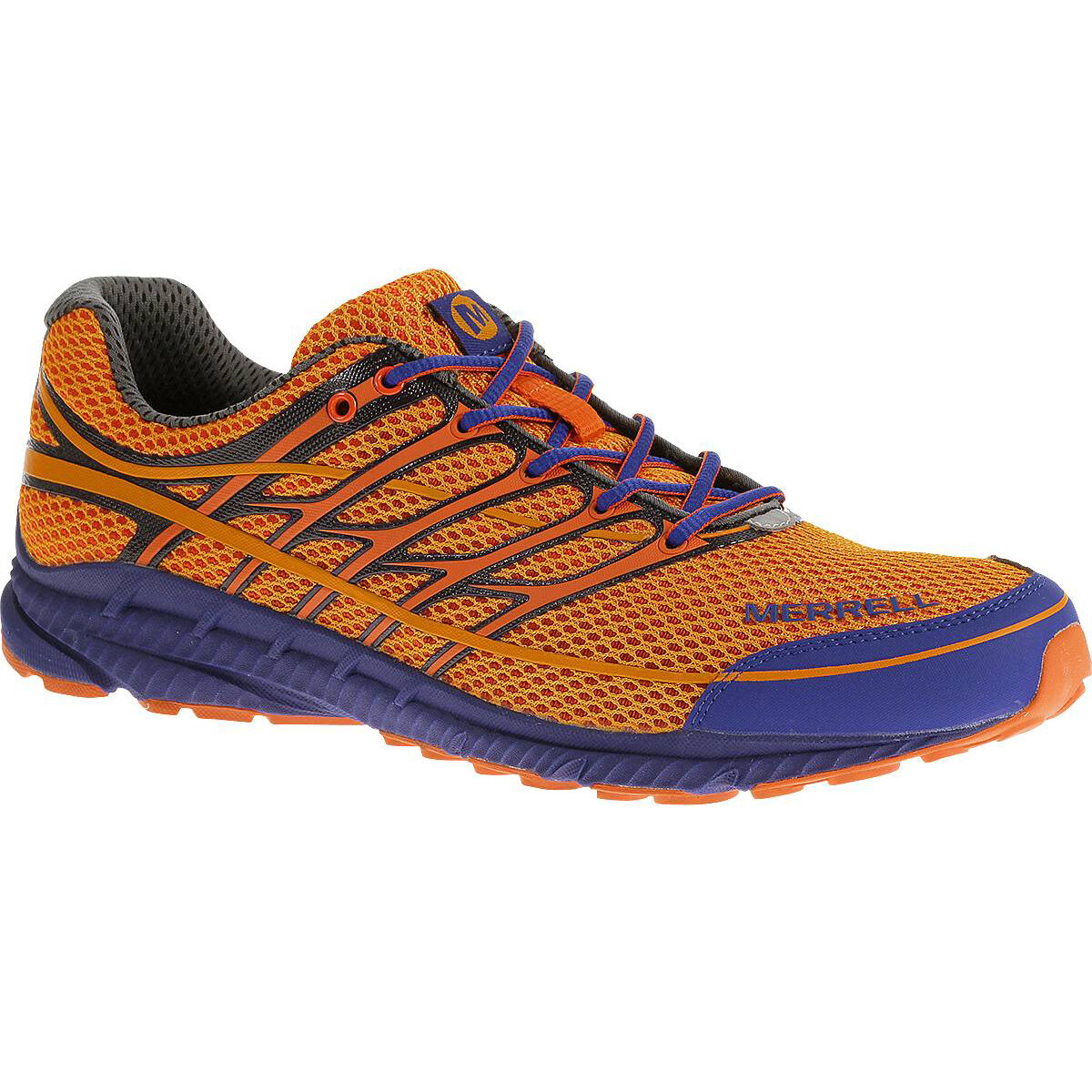 MERRELL Men's Mix Master Move 2 Trail Running Shoes, Royal Blue/Orange