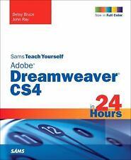 Sams Teach Yourself Adobe Dreamweaver CS4 in 24 Hours (Sams Teach-ExLibrary