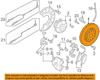 OE Replacement Rotors M1 Ceramic Pads R 2009-2015 VW Tiguan See Desc.