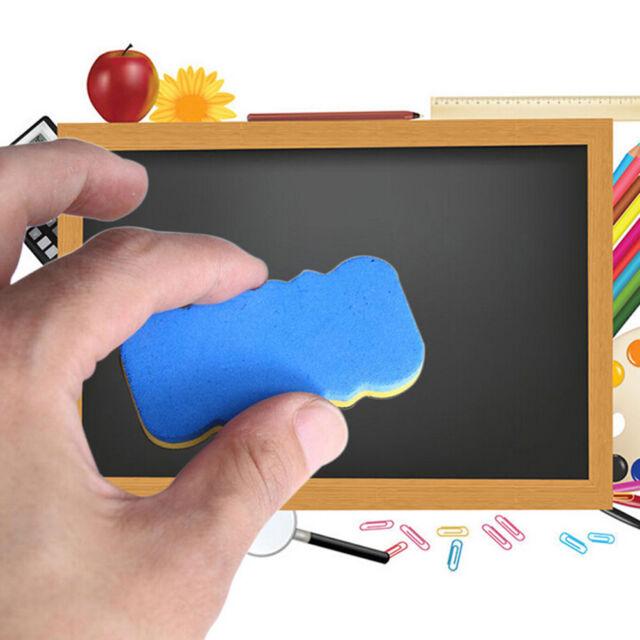 4Pcs Board Rubber Blackboard Whiteboard Cleaner Dry Marker Pen Eraser&USvb