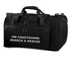1 X HM COASTGUARD búsqueda y rescate Bolsa de viaje NEGRO/bolsa de trabajo ideal para RNLI