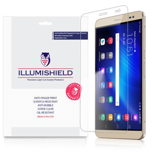 iLLumiShield Screen Protector w Anti-Bubble//Print 3x for Huawei MediaPad X2