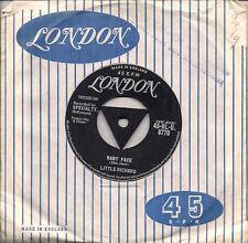 "Little Richard Baby Face Tri centre UK 45 7"" single +I'll Never Let You Go"