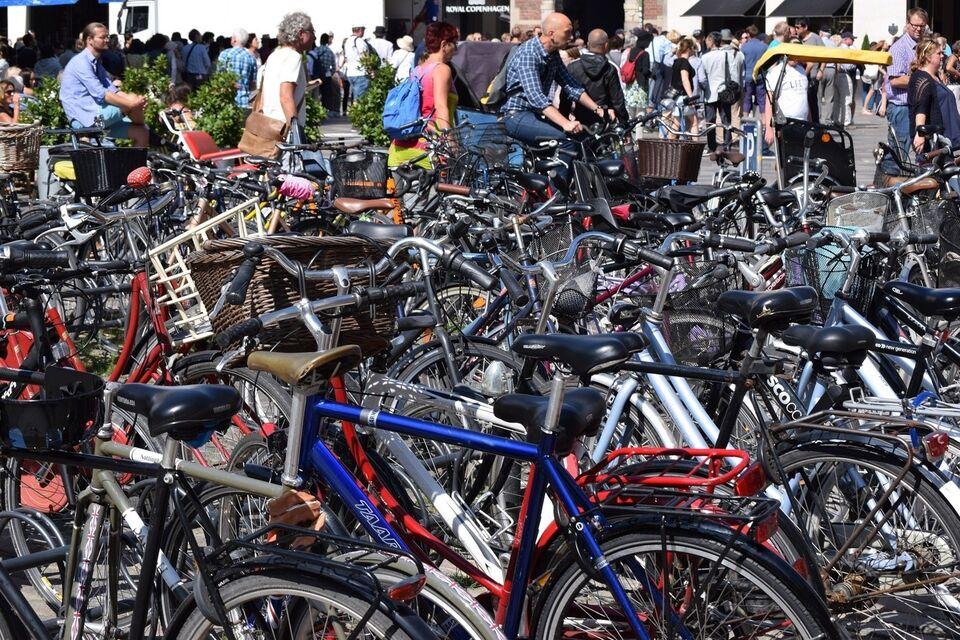 Reparation af cykelpunktering, København, BikeRunner