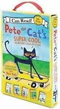 Pete the Cat's Super Cool Reading Collection by James Dean (2014, Paperback)