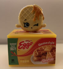 Shopkins Season 12 Real Littles-Thick /'N Fluffy Waffles-Ella Eggo-BRAND NEW