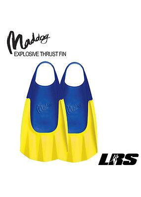 NEW MADDOG Wave Gripper Bodyboard Fins Bodysurfing Bodyboarding Flippers