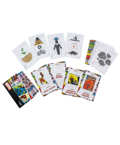Marvel Say What You See Quick-Fire Card Game Trivia Quiz Officially Licensed