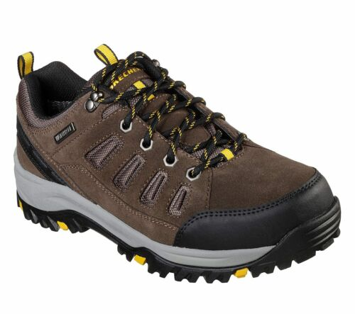 Relment Sonego Trainers Memory Foam Trail Shoes Mens 65673 Skechers Relaxed Fit