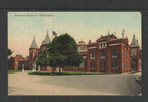 1910s-NATIONAL-MUSEUM-WASHINGTON-DC-POSTCARD-Card-4003
