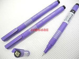 3-Pens-x-Pilot-Oil-Based-Marker-0-1mm-Drawing-Pen-Liner-Black-Pigment-Ink