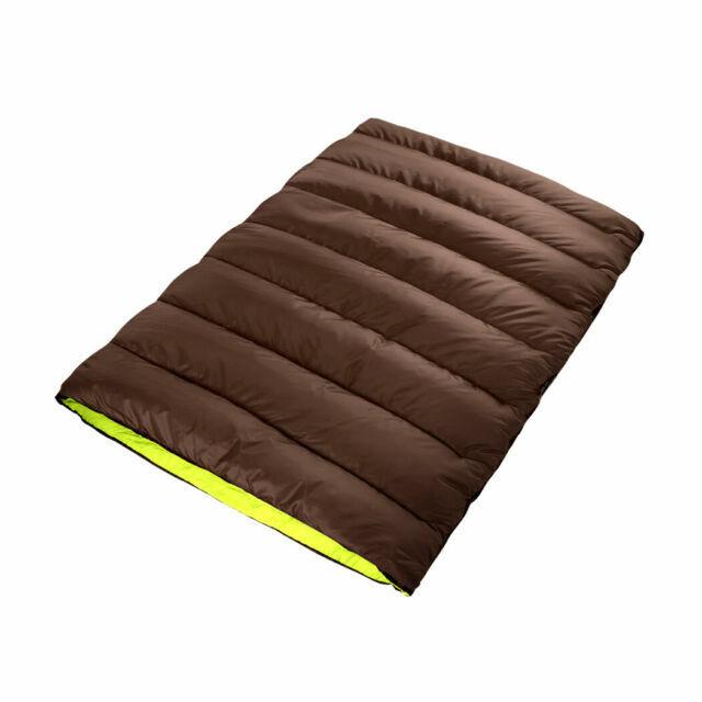 Mountview UA0215 Double Sleeping Bag – Brown