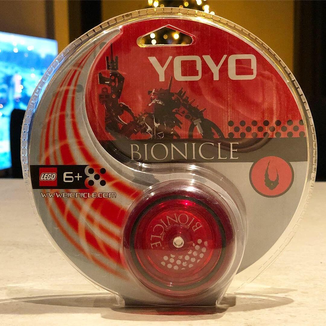 New and sealed Lego Bionicle Piraka yoyo from 2006