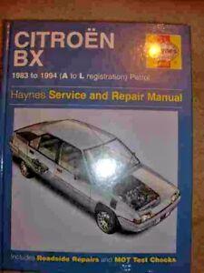 citroen bx workshop manual ebay rh ebay ie citroen bx service manual citroen bx service and repair manual