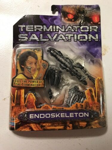 Terminator Salvation Endoskeleton Battle Damaged Prosthetic Patches NEW