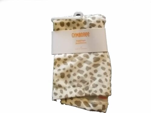 NWT Girl/'s Gymboree Right Meow ivory cheetah leggings ~ 6-12 months