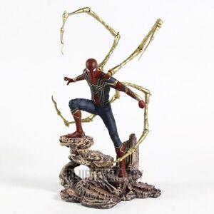 Spiderman-Statue-PVC-Aktion-Figur-Avengers-Infinity-Krieg-18cm