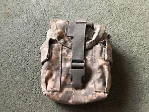 U.S military surplus canteen pouch UCP camo Molle