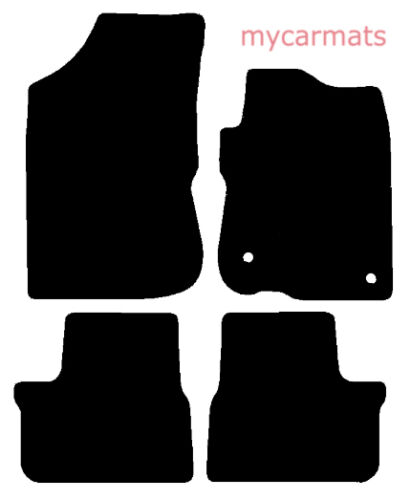Peugeot 2008 New Fully Tailored Car Floor Mats Heavy Duty Rubber 2013-Present