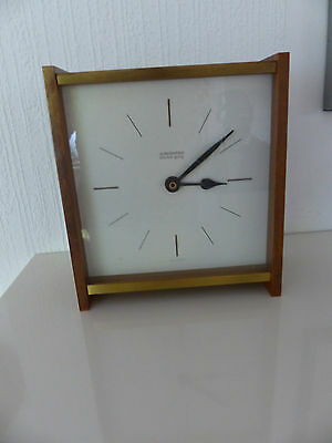 Weitere Uhren Genial 1 Junghans-stiluhr Holz-metall 60/70ger Jahre Uhr Nr 365/5005