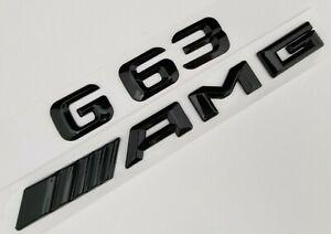 Chrome 1+1 E63+AMG Fit Mercedes Rear Trunk Emblem Logo Badge Letter Number