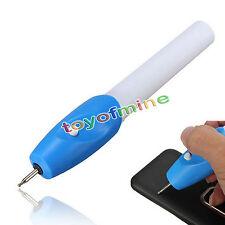 Elektro Gravierstift Gravierer Graviergerät Gravur Stift auf Holz Glas Metall