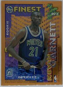 1995-96-Topps-Finest-Rookie-Veteran-Kevin-Garnett-Tom-Gugliotta-RV-5