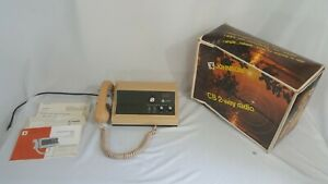 Johnson-Messenger-132-CB-Base-Station-Transceiver-with-Original-Box-and-Manual