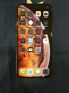Apple-iPhone-XS-Max-64GB-Gold-Unlocked-has-screen-image-burn-shadow