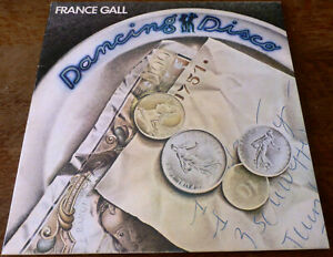 """FRANCE GALL 33 T """"DANCING DISCO"""" ANNEE 1977.  50364"""