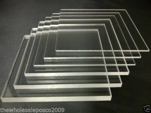 Perspex Clear Acrylic Sheet 5mm 6mm Amp 8mm Thick Stock Cut