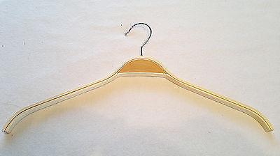 5 Stück Kleiderbügel - Holzbügel - Schichtbügel Ohne Steg 42 Cm Breit