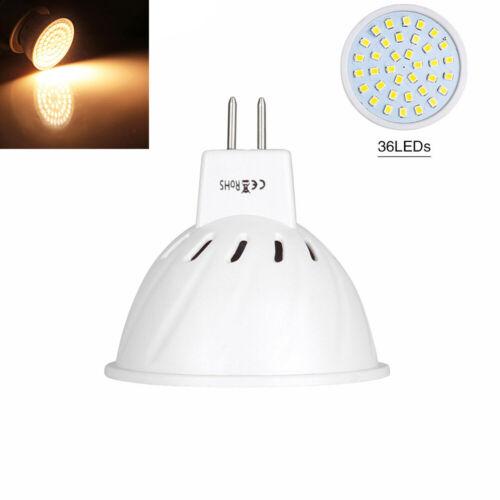 MR16 LED Glühbirne Leuchtmittel Birne Lampe Strahler Kaltweiß Warmweiß 4//6//10Pcs