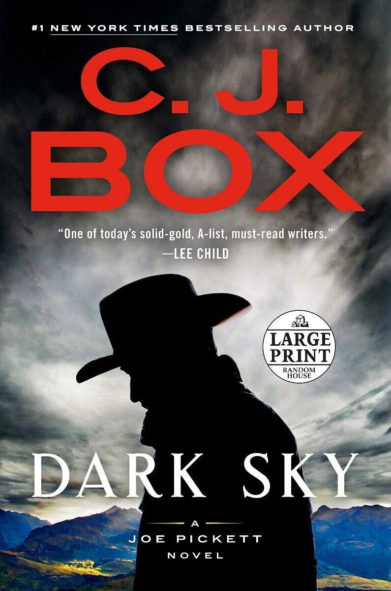 Image 1 - Dark Sky (A Joe Pickett Novel) PAPERBACK – Large Print  2021 by C. J. Box