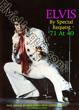 Elvis Presley By Special Request '71 At 40 Deluxe Book